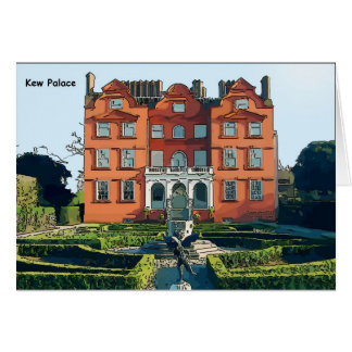 Palacio de Kew Tarjetón