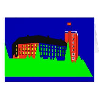Palacio de Koldinghus - color Tarjeta De Felicitación