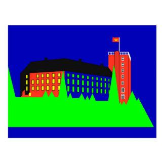 Palacio de Koldinghus - color Tarjeta Postal