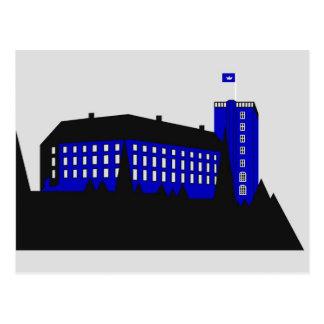 Palacio de Koldinghus - gris Tarjetas Postales