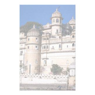 Palacio de la ciudad, Udaipur, la India Papeleria De Diseño