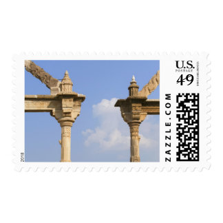 Palacio de la ciudad, Udaipur, Rajasthán, la India Sello