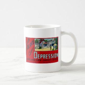 Palacio de la depresión taza