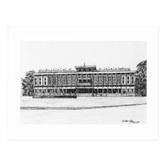 Palacio de la reunificación tarjeta postal