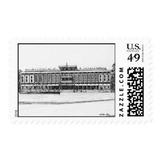 Palacio de la reunificación timbres postales