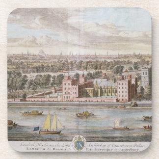 Palacio de Lambeth, asiento del arzobispo de Cante Posavasos De Bebidas