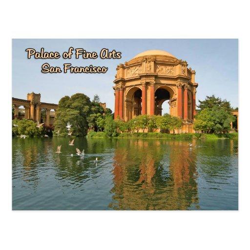 Palacio de las bellas arte San Francisco Postal