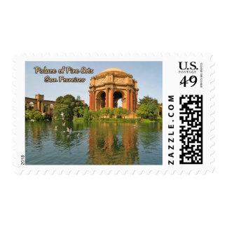 Palacio de las bellas arte San Francisco Sello Postal