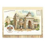 Palacio de las humanidades - tarjeta 1904 del corr tarjeta postal