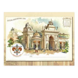 Palacio de las humanidades - tarjeta 1904 del tarjeta postal