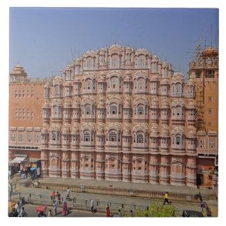 Palacio de los vientos (Hawa Mahal), Jaipur, la In Azulejos