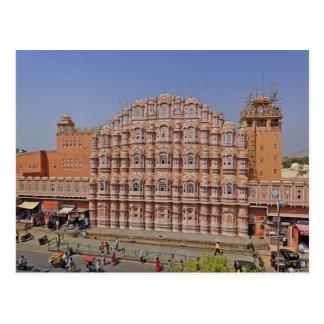 Palacio de los vientos (Hawa Mahal), Jaipur, la Tarjeta Postal
