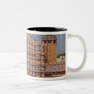 Palacio de los vientos (Hawa Mahal), Jaipur, la Taza De Dos Tonos