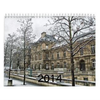Palacio de Luxemburgo - el asiento del senado fran Calendarios De Pared