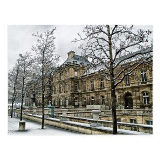 Palacio de Luxemburgo - el asiento del senado fran Postales