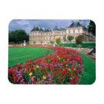 Palacio de Luxemburgo en París, Francia Imanes Rectangulares