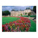 Palacio de Luxemburgo en París, Francia Postales