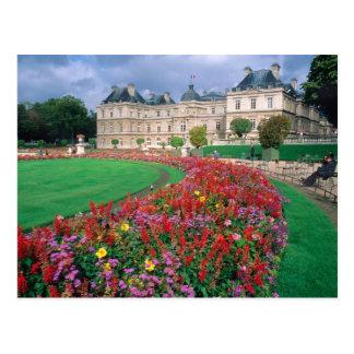 Palacio de Luxemburgo en París, Francia Postal