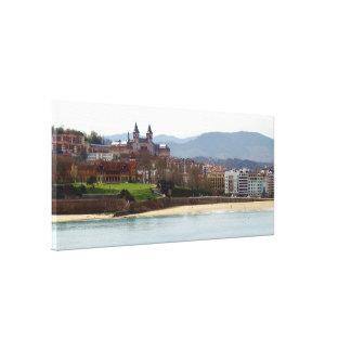 Palacio de Miramar en Donostia - San Sebastián Impresiones En Lona Estiradas