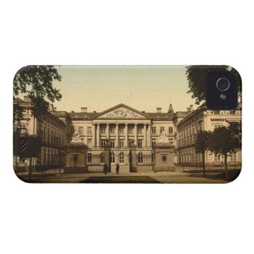 Palacio de naciones, Bruselas, Bélgica iPhone 4 Case-Mate Fundas