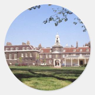 Palacio de No.33 Kensington Pegatina Redonda