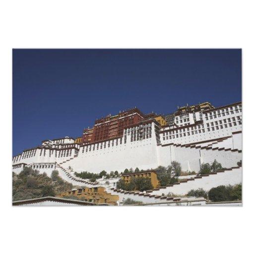 Palacio de Potal en Lasa, Tíbet Fotografía