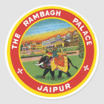 Palacio de Rambagh, etiqueta de Jaipur
