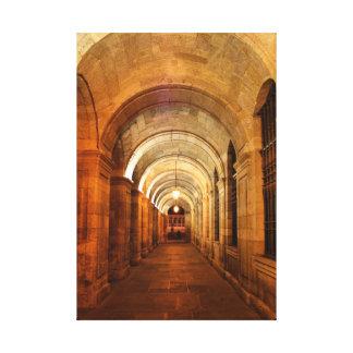 Palacio de Raxoi en Santiago de Compostela, España Lienzo Envuelto Para Galerías