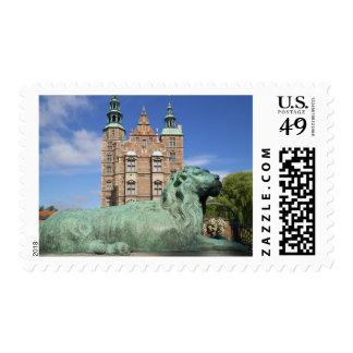 Palacio de Rosenborg, Copenhague, Dinamarca Sello