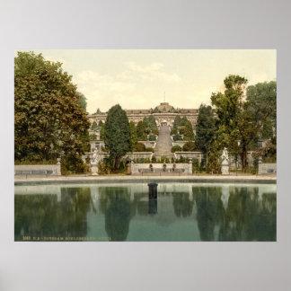 Palacio de Sanssouci, Potsdam, Berlín, Alemania Posters