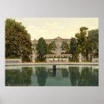 Palacio de Sanssouci, Potsdam, Berlín, Alemania Póster