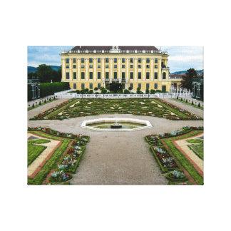 Palacio de Schonbrunn, Viena Impresión De Lienzo