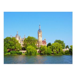 Palacio de Schwerin, Alemania Postales