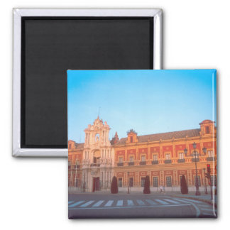 Palacio de Telmo en asiento de Sevilla, España de Imán Cuadrado