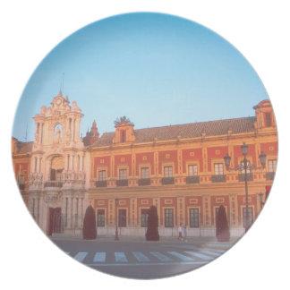 Palacio de Telmo in Seville, Spain seat of Party Plate