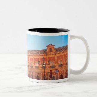 Palacio de Telmo in Seville, Spain seat of Two-Tone Coffee Mug
