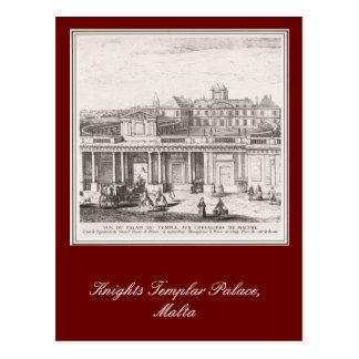 Palacio de Templar de los caballeros, Malta Tarjetas Postales