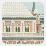 Palacio de Terem Calcomanías Cuadradas