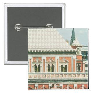 Palacio de Terem Pin Cuadrada 5 Cm