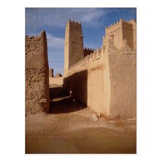 Palacio de Thunyan, ciudad vieja, Najd, la Arabia Postales