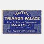 Palacio de Trianon del hotel (París Francia) Rectangular Altavoces