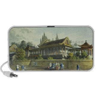 Palacio de verano del emperador, enfrente de la ci altavoces de viajar