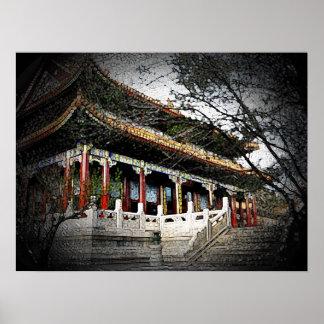 Palacio de verano. Pekín, China Impresiones