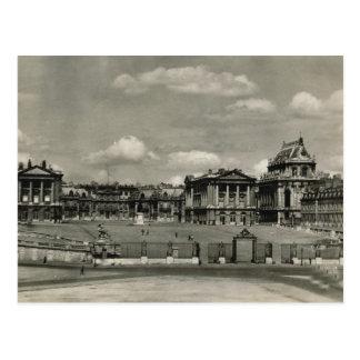 Palacio de Versalles 1924 Tarjetas Postales