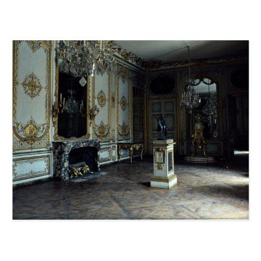Palacio de Versalles, la sala de estar del reloj,  Postales