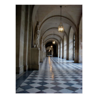 Palacio de Versalles Poster