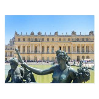 Palacio de Versalles París Francia Postal
