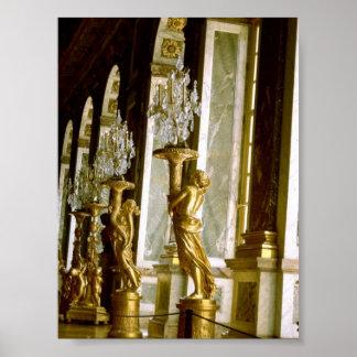 Palacio de Versalles Pasillo de la estatua de oro  Impresiones