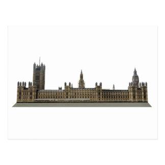 Palacio de Westminster Casas del parlamento Tarjeta Postal