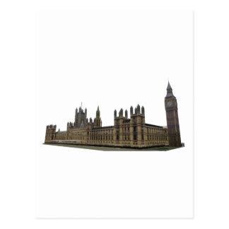Palacio de Westminster: Casas del parlamento: Postal